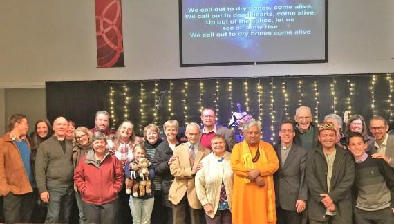 Christian-Muslim-Hindu-Buddhist-Jewish Leaders Jointly Celebrated Thanksgiving