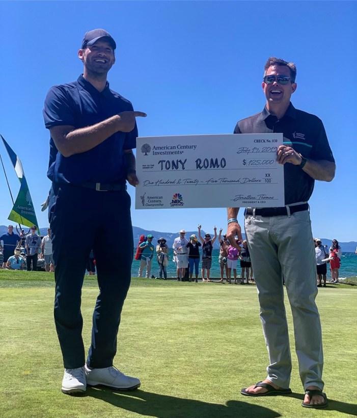 Tony Romo Takes Another American Century Championship!