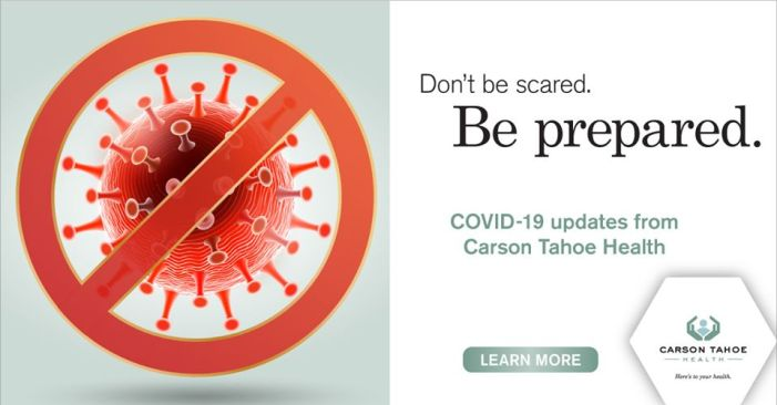 Carson Tahoe Health CEO: Stay Home, Keep Our Healthcare Staff Seeing Patients, rather than Becoming Patients