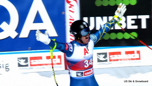 Erik Arvidsson Skis to Strong 8th Place Finish in Saalbach-Hinterglemm Downhill