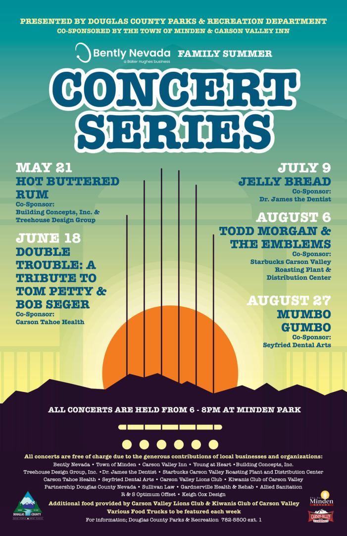 Concerts in the Park Return to Minden this Summer!