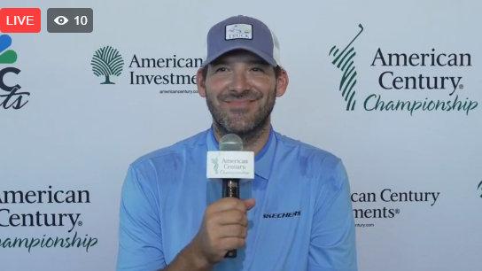 Tony Romo Interview at American Century Championships