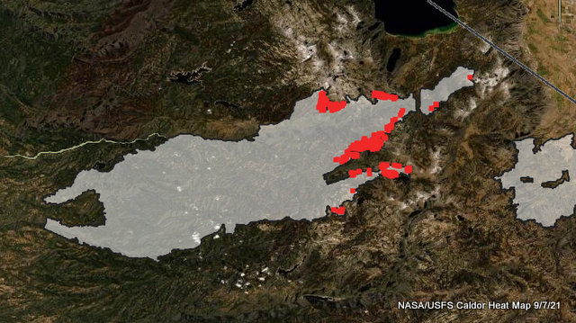 50% Containment Reached on Caldor Fire!  996 Structures Destroyed & Repopulations Accelerate