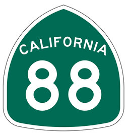 Hwy 88 a Key Sierra Nevada Roadway Opens After Closure From Caldor Fire