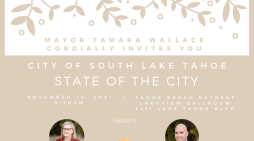 The 2021 State of the City is November 10th
