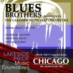Blues Brothers concert promotional poster