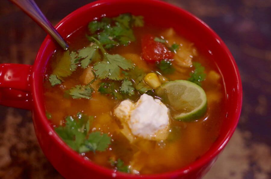 Chicken Tortilla Soup Recipe- Our Family's Favorite!