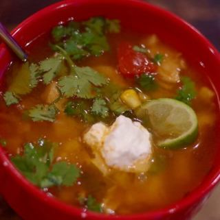 chicken tortilla soup recipe - Most soups need a day or two to come together, this one has amazing flavor immediately! | www.lakesidetable.com