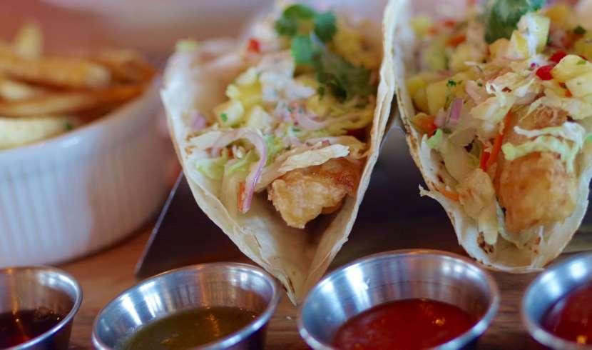 Firefly fish tacos