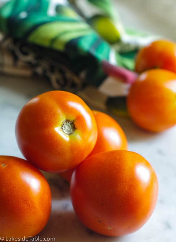 Fresh Tomatoes for Tomato Cheddar Soup Recipe