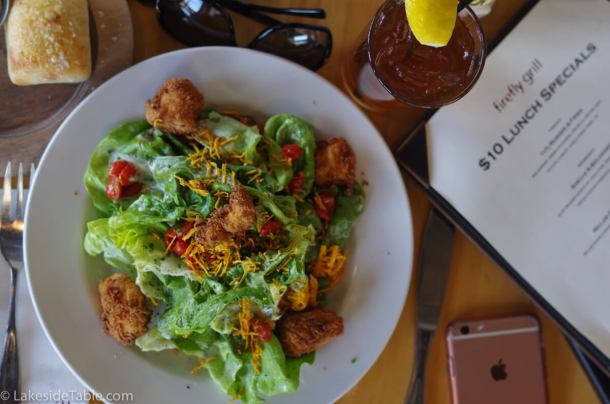 Fried Chicken Salad - www.lakesidetable.com