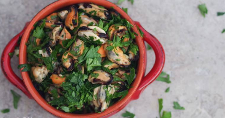 Parsley Mussel Salad from Marseilles