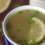 Beef Bone Broth Recipe - Full of antioxidants and collagen protein! Perfect for cold winter days | www.Lakesidetable.com
