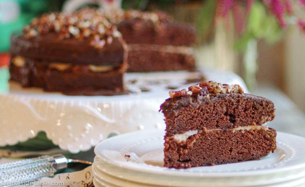 Layered Chocolate Sheet Cake