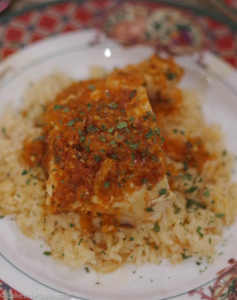 Piri piri Chicken Recipe you... Blitz - Pour - Bake!  Presto! You are a superstar!!!  Such and easy recipe. You totally rock! And super good too! | www.lakesidetable.com