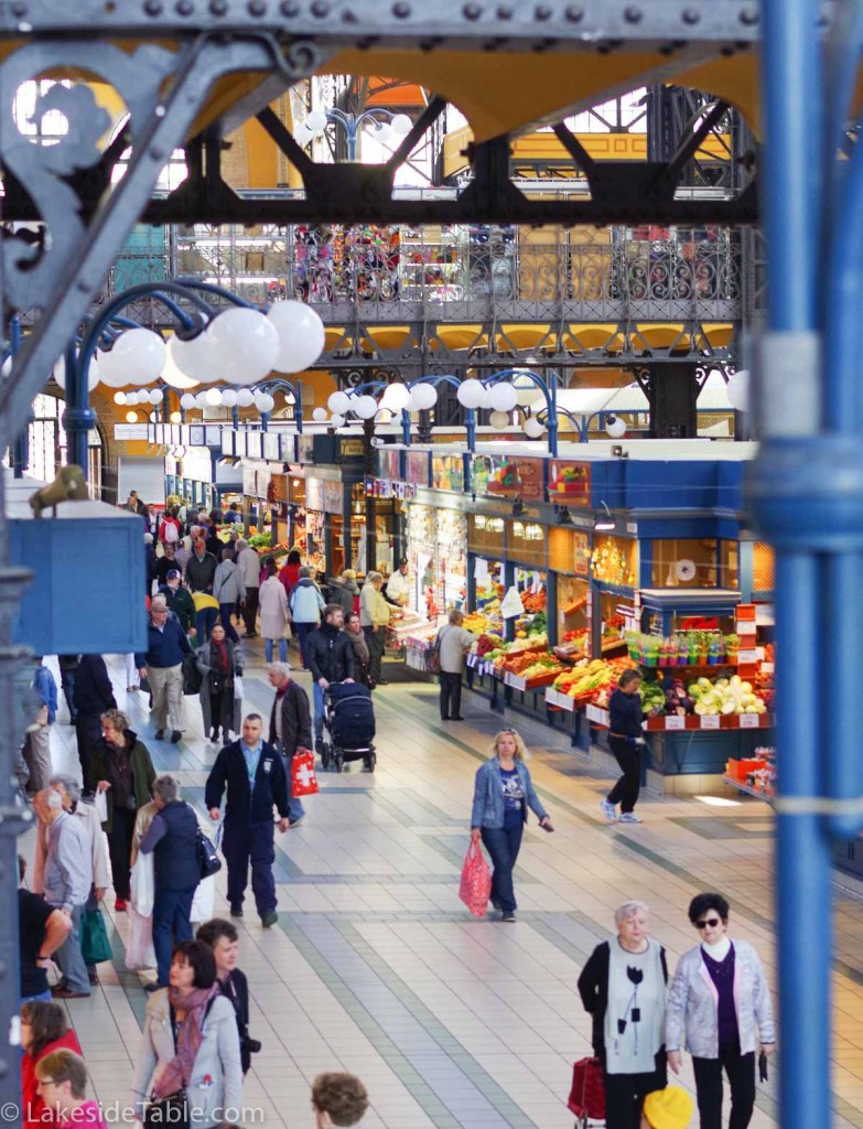 Grand Hall Market in Budapest | www.lakesidetable.com