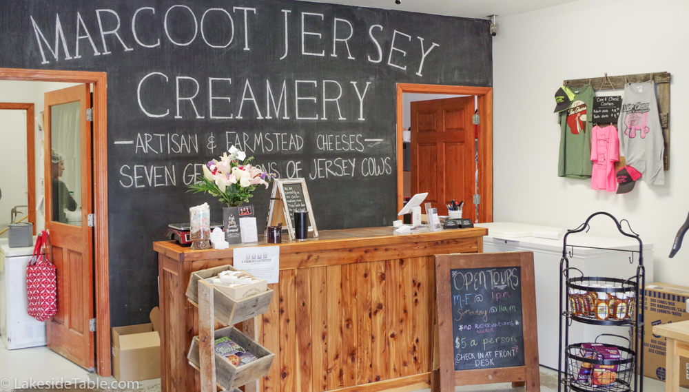 Marcoot creamery store front