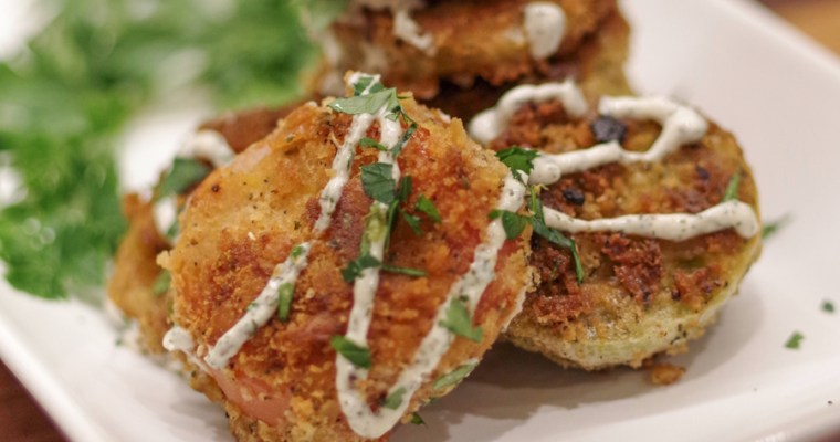 How to Make Fried Green Tomatoes Fast & Easy