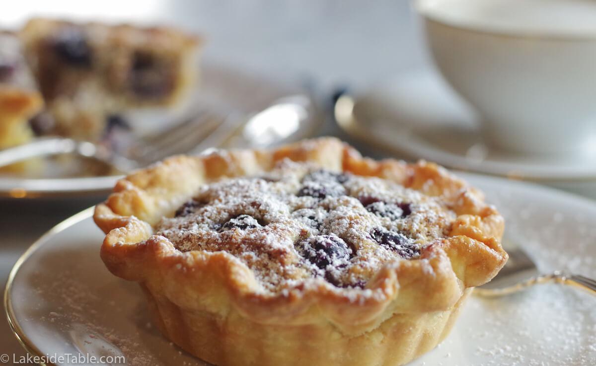 Almond Blueberry Tart Recipe