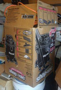 Shop Vac in Box