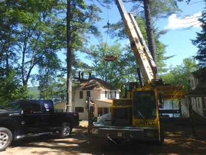 Natural Stone Chimney Rebuild