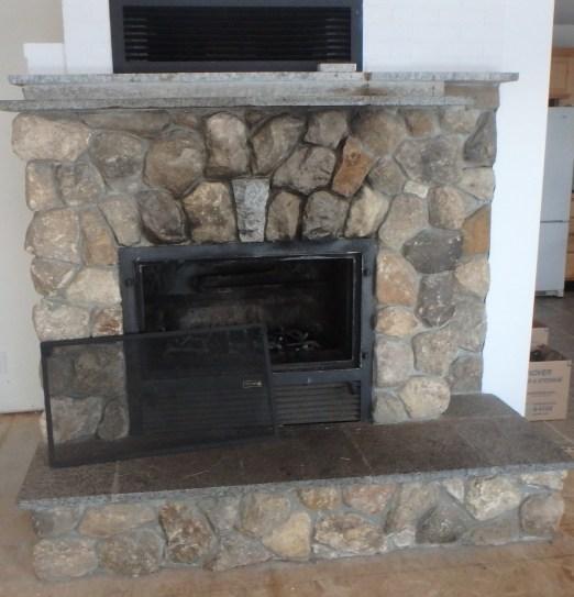 Lakes Region Chimney Pro NH - Fireplace Rehab Before