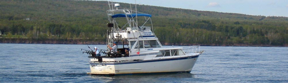 Lake superior charter fishing boats duluth charter boats for Charter fishing duluth mn