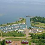Knife River Marina on Lake Superior