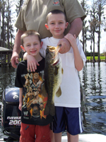 Butler Chain and Johns Lake Bass Fishing Report Feb 2009
