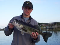Butler Chain and Johns Lake Bass Fishing Report March 2009