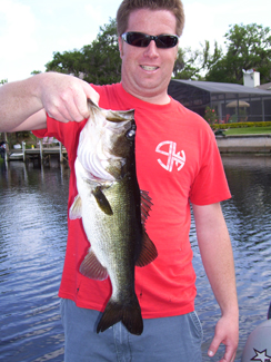 Lake Toho Bass Fishing Mid April 2010