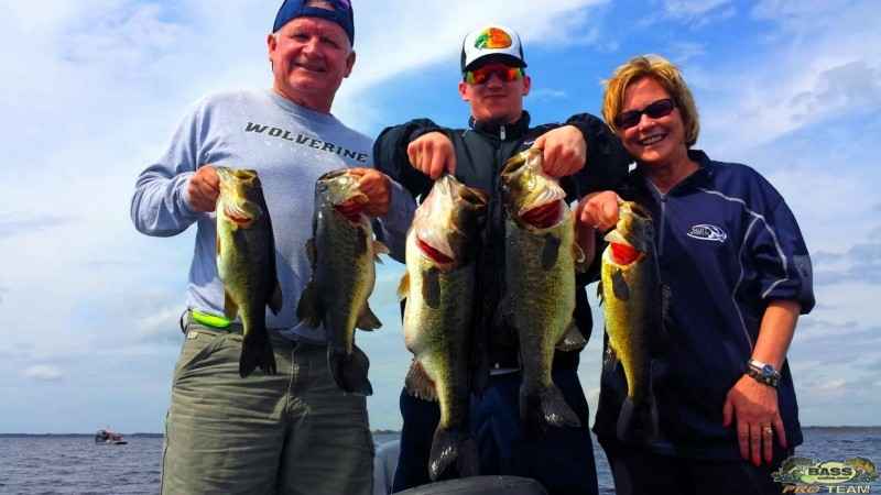 Central Florida Bass Fishing Guide Capt Tony Summers