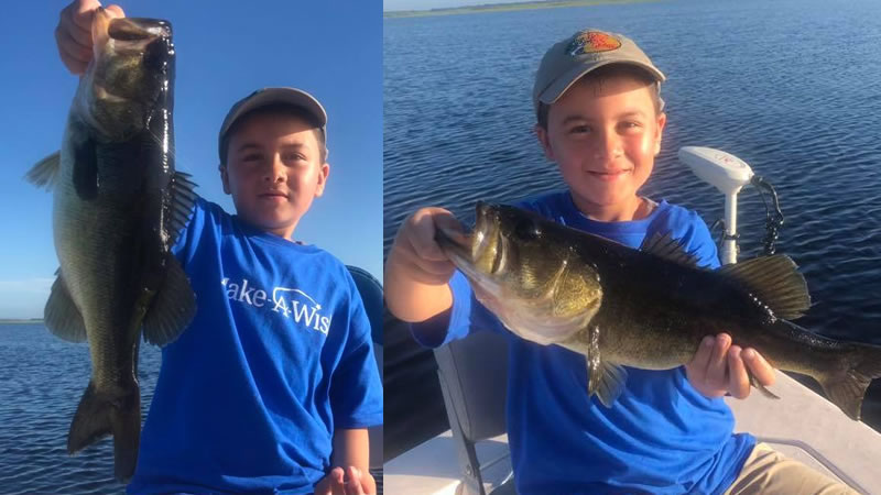 Make A Wish Fishing Adventure in Central Florida