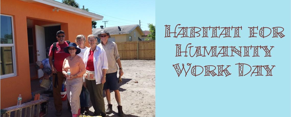 Habitat Work Day