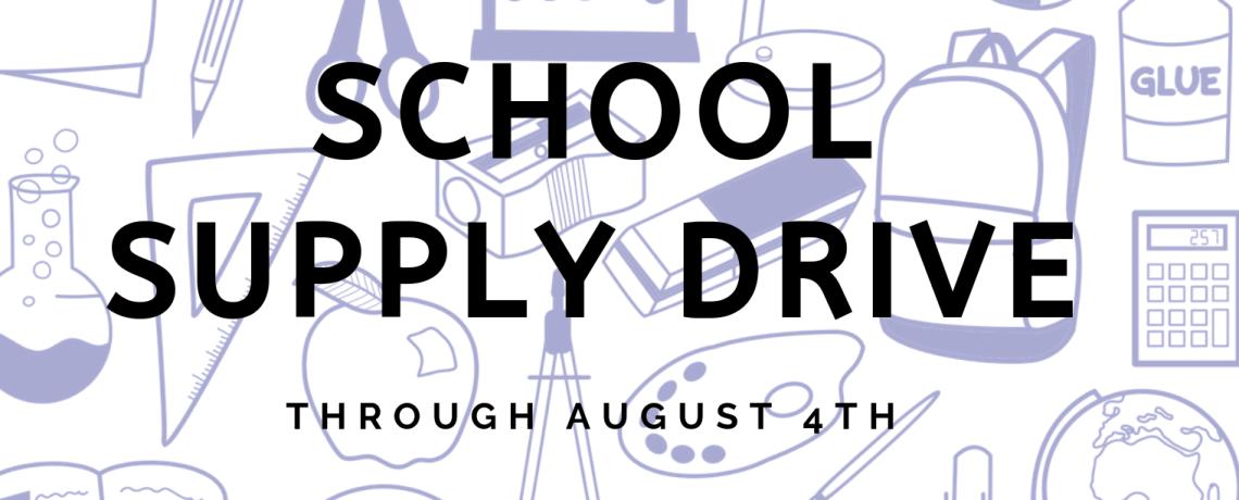 School Supply Drive 2019