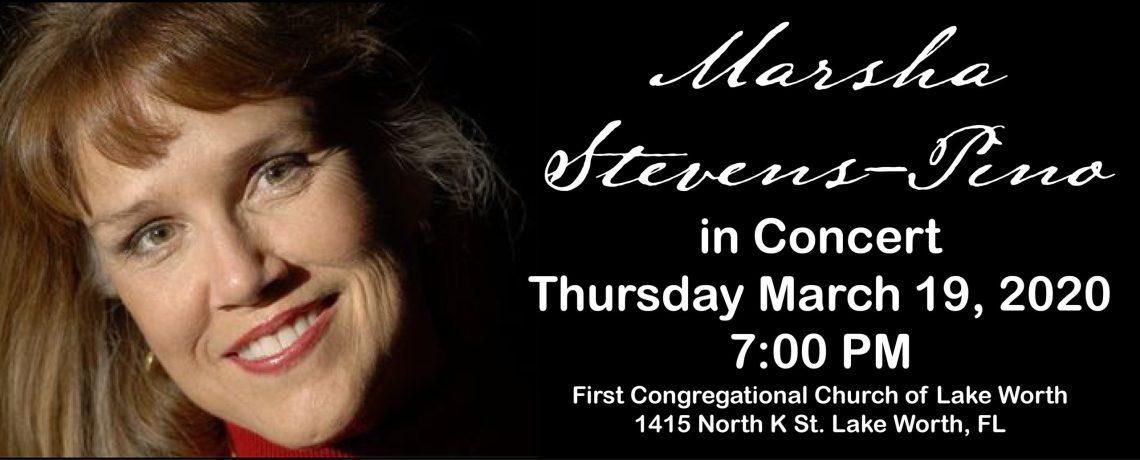 Marsha Stevens-Pino in Concert