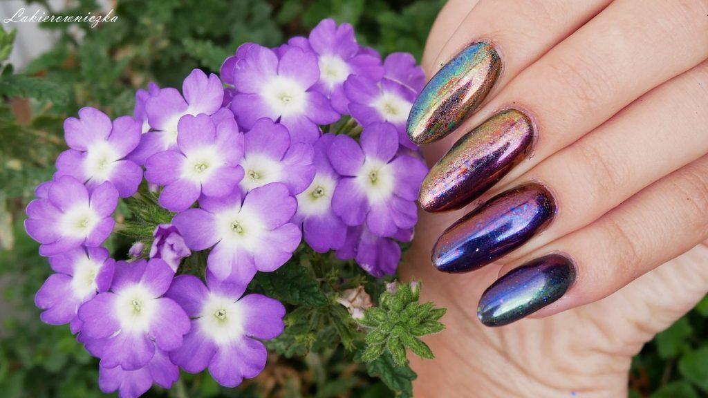 cieniowanie-pylkami-ombre-paznokcie-gradient-Victoria-vynn-Lakierowniczka-33-green-meadow-36-aubergine-40-goldflix-mix-duochrom-efekt-lustra-szkla-cieniowanie pyłkami ombre