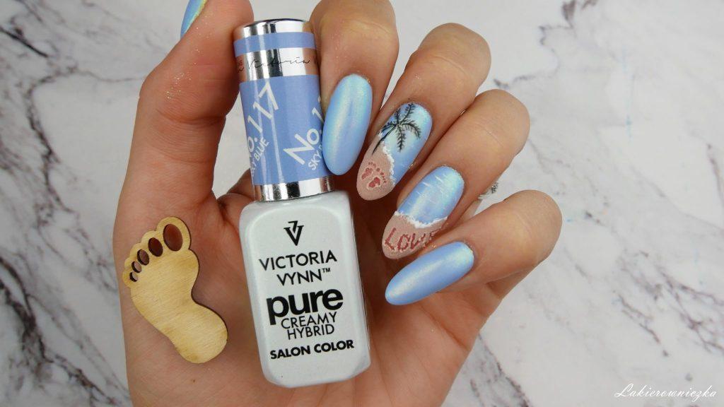 hybrydy-na-lato-2018-idealne-hybrid-nails-paznokcie-hybrydowe-plaza-3d-Victoria-vynn-117-sky-blue-122-ginger-spice-24-aurora-opal-Lakierowniczka-hybryda na lato 2018