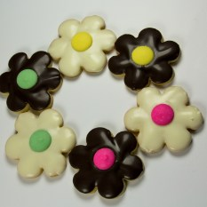 Butter Cookie Flowers