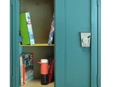 Locker shelf DIY Lakota East High School Spark newsmagazine online
