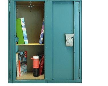 Locker shelf DIY Lakota East High School Spark newsmagazine online