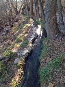 Montezuma Well canal