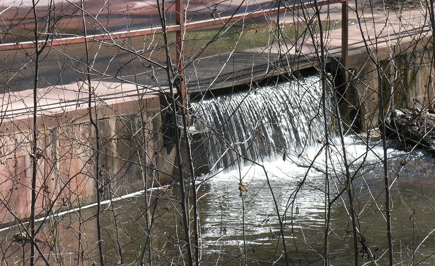 Low water crossing in SILENCE IN WEST FORK
