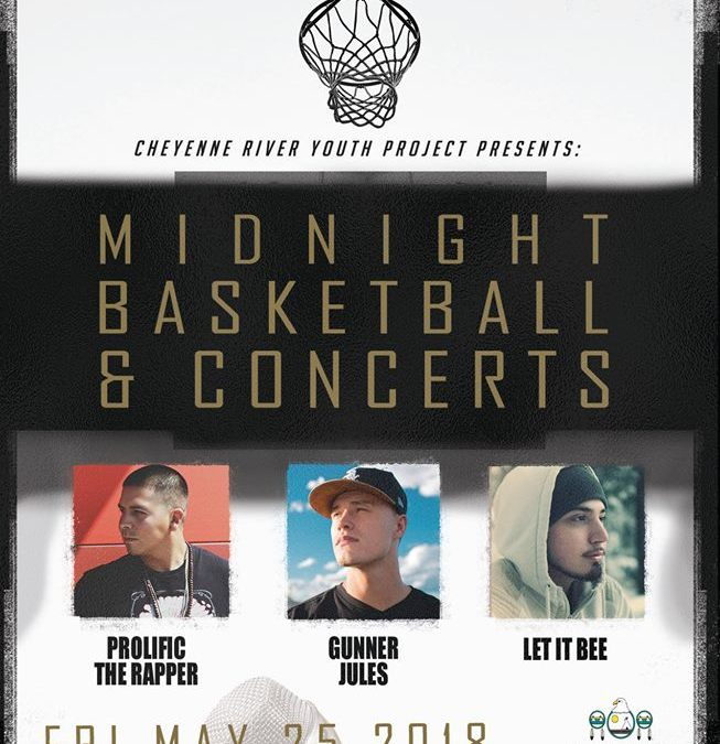 Summer Midnight Basketball Kicks Off with Special Event, Concerts on May 25