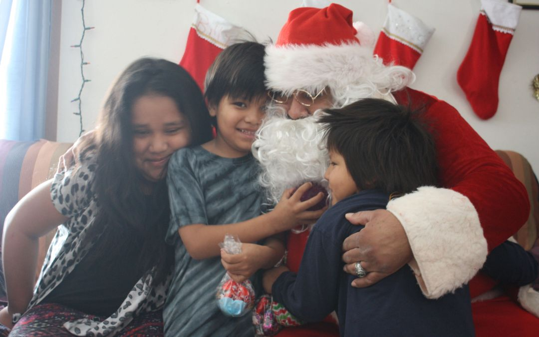 Covid Won't Keep Santa Away from Cheyenne River, Thanks to the Wo Otúh'an Wi Toy Drive