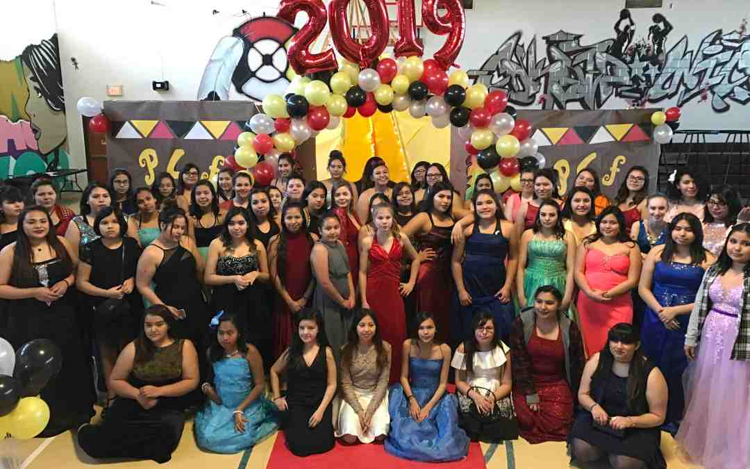 Nearly 90 Young Lakota Women Participate in Passion for Fashion 2019