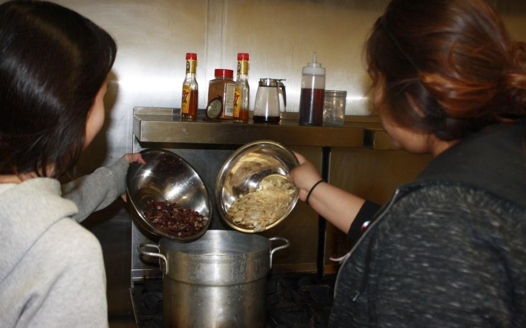 Indigenous Cooking Interns Prepare for Lakota Food Summit on Feb. 18-20