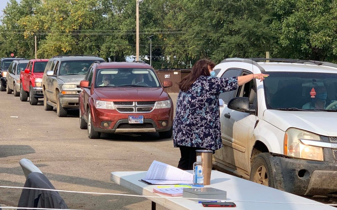 CRYP Provides Food, School Supplies & Relief to Hundreds of Lakota Families This Fall
