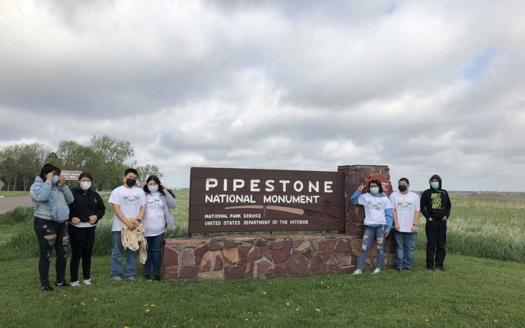 Cheyenne River Youth Visit Pipestone National Monument on May 21-23