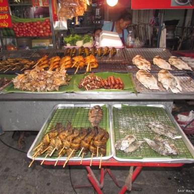 блюда из рыбы и морепродуктов в таиланде